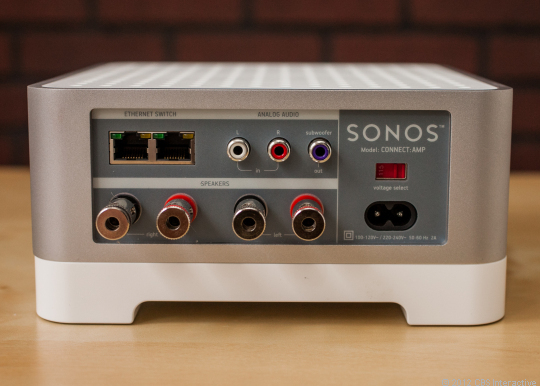 Connect sonos to amplifier